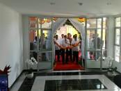 Menteri Hukum dan HAM Yasona Laoly meresmikan Rusunawa untuk pegawai di lingkungan Kanwilkumham Bali, Sabtu, 10 Maret 2018 - foto: Koranjuri.com