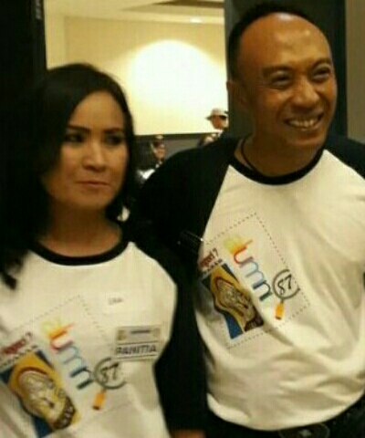 Ketua panitia, I Putu Wijaya Kusuma dan Sekretaris panitia, Erawati - foto: Istimewa