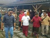 Wayan Koster menghadiri deklarasi warga Desa Selat, Klungkung yang mendukung pencalonan dirinya sebagai cagub Bali bersama Tjokorda Oka Artha Ardhana Sukawati (Cok Ace) sebagai wakil gubernur - foto: Istimewa