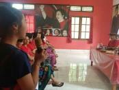 Cagub Wayan Koster menemui kalangan pemuda pada pertemuan terbatas yang digelar di Kantor DPC PDI Perjuangan Kabupaten Karangasem, Selasa 13 Maret 2018 - foto: Istimewa