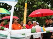 Sebanyak 12 kelompok nelayan di Banjar Dinas Pengalon, Desa Antiga Kelod, Kecamatan Manggis menyatakan dukungan kepada calon Gubernur dan Wakil Gubernur nomor urut 1, Wayan Koster-Tjok Oka Artha Ardhana Sukawati (Koster-Ace) - foto: Istimewa