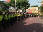 Polsek Tanjung Duren melaksanakan kegiatan Apel persiapan pengamanan perayaan Paskah yang di ikuti seluruh Personil dari 3 pilar Kecamatan Grogol Petamburan Jakarta Barat serta Pokdarkamtibmas - foto: Istimewa
