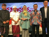 Pasangan Calon Gubernur dan Wakil Gubernur Bali nomer urut 1 Wayan Koster-Tjok Oka Artha Ardhana Sukawati (Koster-Ace), dalam acara Kupas Kandidat yang diadakan TVRI Nasional - foto: Istimewa