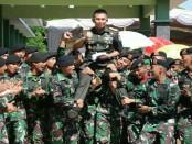 Panglima Kodam IX/Udayana Mayjen TNI Benny Susianto usai meresmikan berdirinya Denkav 4/Simha Pasupati - foto: Istimewa