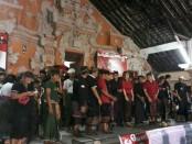 Sekaa Teruna Teruni (STT) Desa Adat Pau dan STT se-Kecamatan Banjarangkan, Kabupaten Klungkung yang menyatakan dukungan kepada Koster-Ace dan BAGIA - foto: Istimewa