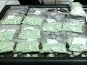 Ribuan butir pil ekstasi yang diamankan Polda Bali - foto: Istimewa