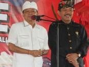 Paslon gubernur dan wakil gubernur Bali nomer urut 1, I Wayan Koster dan Tjokorda Oka Artha Ardhana Sukawati (Koster-Ace) - foto: Istimewa