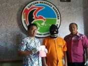 Pelaku WW diamankan reserse narkoba Polresta Denpasar - foto: Istimewa