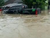Banjir rendam puluhan rumah di Cilegon - foto: Istimewa