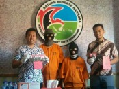 Polresta Denpasar mengamankan 2 pelaku pengguna narkoba - foto: Istimewa