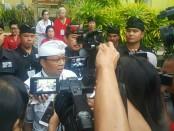 Koster-Ace melakukan sesi wawancara usai mengikuti debat kandidat Gubernur Bali di Hotel Goodway Nusa Dua, Sabtu, 28 April 2018 - foto: Istimewa
