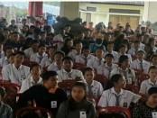 Tryout SBMPTN yang diadakan serentak di Kabupaten/Kota se Bali, Minggu, 29 April 2018 - foto: Istimewa