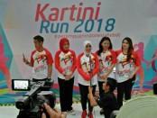 Lomba lari Kartini Run 2018 - foto: Bob/Koranjuri.com