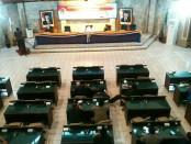 Suasana Rapat Paripurna Laporan Keuangan Pertanggungjawaban Bupati Purworejo akhir tahun anggaran 2017, Rabu (5/4), di gedung DPRD Kabupaten Purworejo - foto: Istimewa