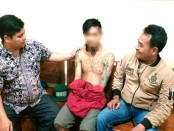 Kentung, pengedar pil koplo warga Purbowangi, Buayan, kini ditahan di Mapolres Kebumen - foto: Sujono/Koranjuri.com