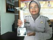 Salbiyah, ASN Polres Kebumen, meraih juara 2 dalam lomba MTQ tingkat Polda Jateng - foto: Sujono/Koranjuri.com