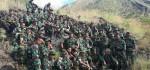 Medan Berat Gunung Batur Jadi Lokasi Minggu Militer Kodim Bangli