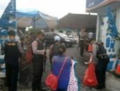 Penjagaan di Polres Badung pasca serangan bom di Surabaya dan aksi terorisme di Jakarta - foto: Istimewa