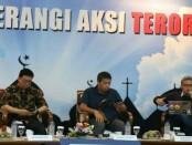 Diskusi Media Forum Merdeka Barat 9 (Dismed FMB9) bertajuk 'Cegah dan Perangi Aksi Teroris' di Gedung Serba Guna Kemkominfo - foto: Istimewa