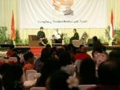 Pasangan Cagub-cawagub Bali nomer urut 1 Wayan Koster - Tjok Oka Artha Ardhana Sukawati (Cok-Ace) ketika menghadiri undangan Perhimpunan Indonesia Tionghoa (INTI) Provinsi Bali di Sanur Bali, Selasa, 22 Mei 2018 - foto: Istimewa