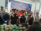 Ditresnarkoba Polda Metro Jaya melakukan pemusnahan Metamfetamin (sabu) berat brutto 239, 84 kilogram dan MDMA (ekstasi) berjumlah 30.000 butir - foto: Bob/Koranjuri.com