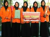 Grup Nasyid Accoustic Saka Kustik dari SMK Kesehatan Purworejo - foto: Sujono/Koranjuri.com