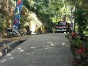 Persiapan penutupan TMMD Ke-101 di Desa Pangsan, Kecamatan Petang, Kabupaten Badung - foto: Istimewa