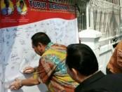 Dukungan tokoh lintas masyarakat dan agama dalam memerangi paham radikalisme di Petamburan, Jakarta Barat - foto: Istimewa