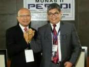 Ketua umum Peradi Dr. Fauzie Yusuf Hasibuan SH., MH (kanan)  dan Sekretaris Jenderal Peradi Thomas E. Tampubolon SH., MH (kiri) - foto: Istimewa