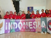 Ketua Umum KSBN Hendardji Soepandji saat melepas tim KSBN untuk Cairo & Alexandria Ramadhan Festival di Sekretariat KSBN Jakarta - foto: Istimewa
