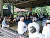 Dadia Pasemetonan Arya Blog Banjar Mbah Api, Desa Ababi, Kecamatan Karangasem sepakat dukung Koster-Ace - foto: Istimewa