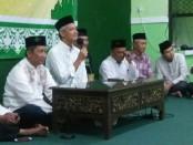 Keterangan foto: Silaturahmi Ganjar Pranowo di kantor PCNU Kota Solo./foto: koranjuri