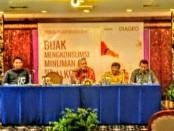Forum Group Discussion (FGD) terkait Bijak Mengkonsumsi Minuman Beralkohol yang diinisiasi Diageo di Hotel Inna Grand Bali Beach Sanur, Senin, 26 Juni 2018 - foto: Istimewa