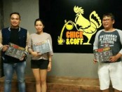 Rendy Adhitya (kiri), Cempaka Dewi dan Ferry Weber - foto: Ari Wulandari/Koranjuri.com