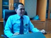 Wakil Pemimpin Bank Jateng Cabang Purworejo, Wahyu Puji Santosa - foto: Sujono/Koranjuri.com