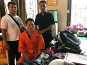 I Made Keri Saputra alias Kedut (34), pelaku Perampokan Kasek SDN 2 Penarungan, Mengwi, Badung ditangkap dan dihadiahi timah panas oleh polisi - foto: Istimewa