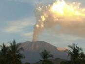 Situasi Gunung Agung teramati dari Batulompeh, Rabu, 28 Juni 2018, pukul 17.59 wita - foto: PVMBG