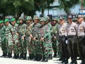 Polda Papua mengerahkan 1.011 personil untuk mengamankan pemungutan suara susulan Pilkada Bupati-Wakil Bupati di Kabupaten Paniai tahun 2018, Senin, 23 Juli 2018 - foto: Istimewa