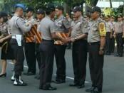 Apel pamen dan Acara kenaikan pangkat Personel Polda Metro Jaya (PMJ) - foto: Istimewa