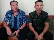 Wakasek Kurikulum Agus Jayanegara (kanan) bersama Wakasek Sarpras  Ketut Suyana (kiri) - foto: Koranjuri.com