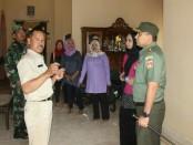 Dandim 0708 Purworejo, Letkol Infanteri Muchlis Gasim, saat mengecek ke lokasi TMMD di Desa Redin, Gebang - foto: Istimewa