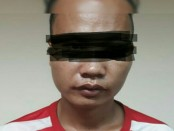 Satu pelaku pencurian yang diamankan Polsek Tambora - foto: Istimewa