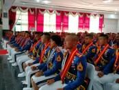 Upacara Penutupan Pendidikan dan Wisuda Sarjana Taruna Akmil Tingkat IV/Sermatutar Tp. 2017/2018, bertempat di Gedung Moch. Lily Rochli, Megelang, Jawa Tengah, Selasa (10/7/2018) - foto: Istimewa