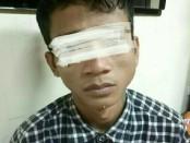 Anggota Buser Unit Reskrim Polsek Tambora Polres Metro Jakarta Barat menangkap HH (29), seorang pelaku pencurian Handphone di Jalan Petak Baru Rt 05 /02, Roa, Malaka, Tambora, Jakarta Barat - foto: Istimewa