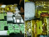 Barang bukti sabu-sabu dan ekstasi yang disita Kepolisian Sektor Tambora, Jakarta Barat - foto: Istimewa