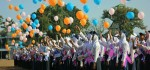151 Siswa Baru SMK Kesehatan Purworejo Lepas Balon Harapan