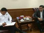 Dewan Penasihat DPP IMO Indonesia  Wiranto (kiri) dan Ketua Umum DPP IMO Indonesia Yakub F. Ismail (kanan) - foto: Istimewa