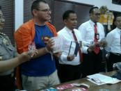 Pelaku kejahatan skimming warga Bulgaria ditangkap Direktorat Krimsus Polda Bali - foto: Istimewa