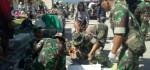 Di Lokasi Gempa, Pangdam Udayana: Tim Kesehatan TNI Bangun Tenda RS