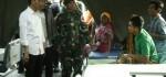 Kunjungan Jokowi di Lombok Hibur Warga di Pengungsian